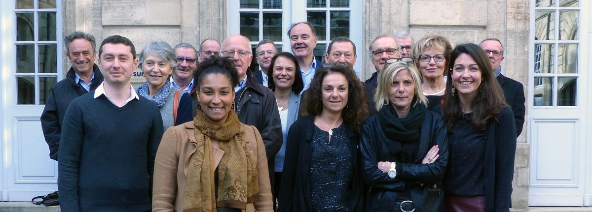 Equipes d'accueil de l'association CSDL, Bordeaux, Périgueux, Agen