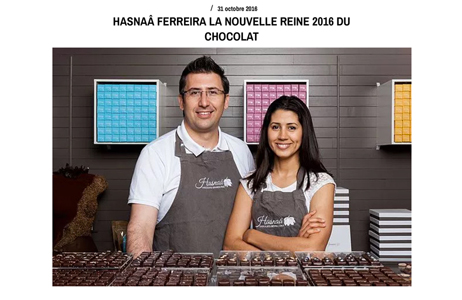 Illustration de l'article sur la nouvelle reine du chocolat