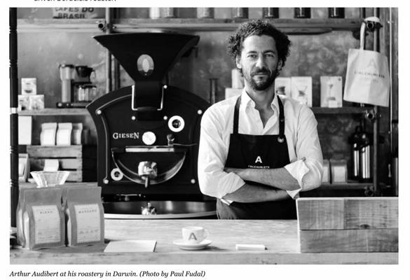 L'alchimiste torréfacteur de café dans Forbes