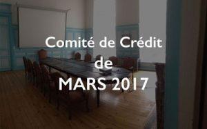 Illustration Comité de Crédit CSDL de mars 2017