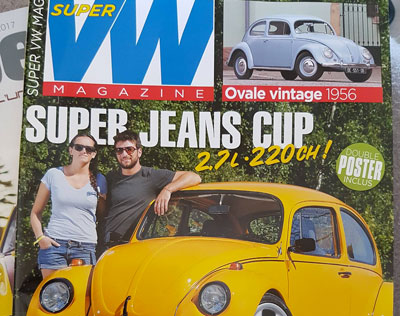 Illustration article Decoloft 24 à nouveau dans le Super VW Magazine