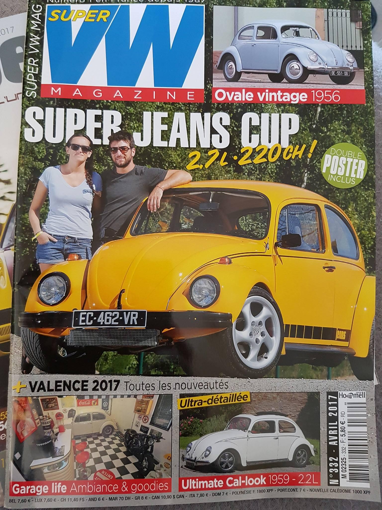 Decoloft 24 à nouveau dans le Super VW Magazine (une)