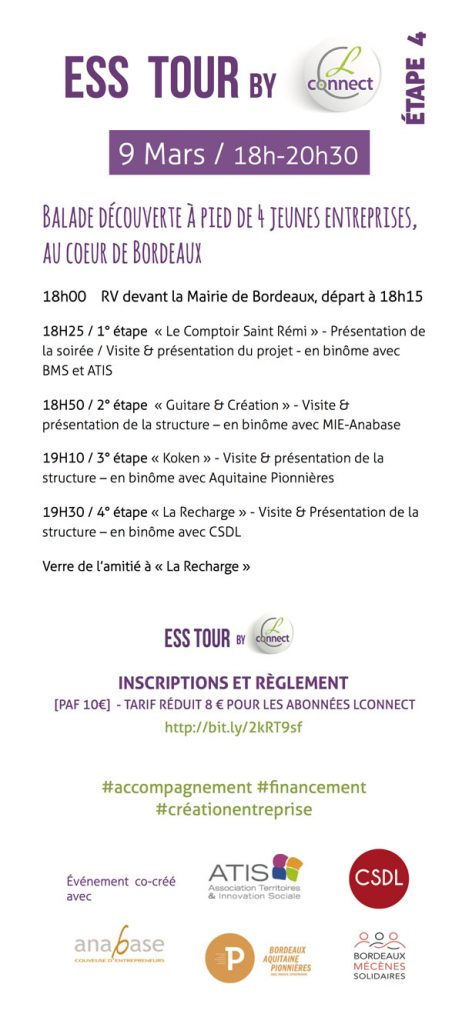 Programme ESS tour du Salon Profession'L 2017