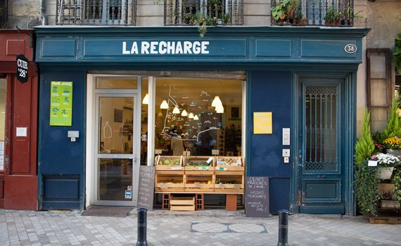 Illustration La Recharge, l'épicerie bordelaise