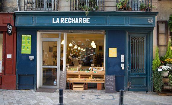 Illustration La Recharge, l'épicerie bordelaise