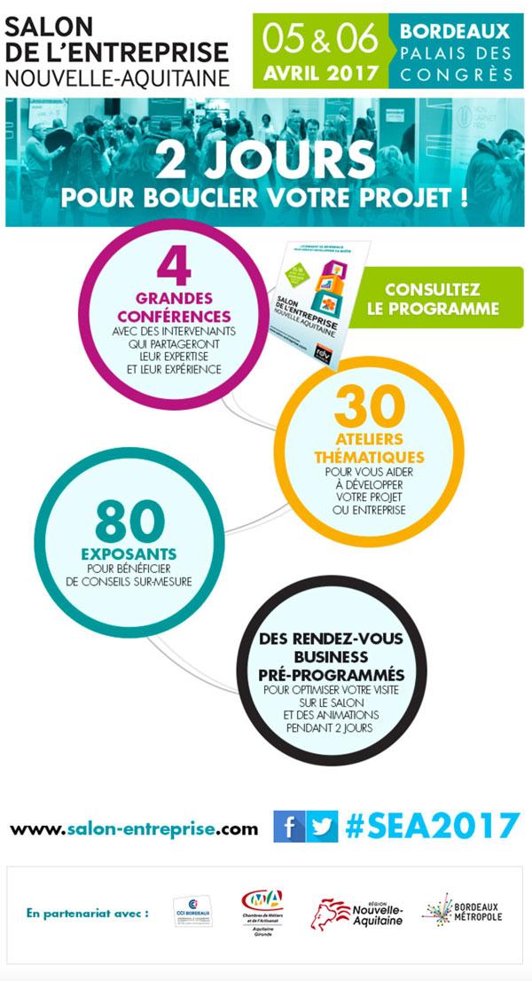 La CSDL présente au Salon Entreprise Nouvelle Aquitaine 2017