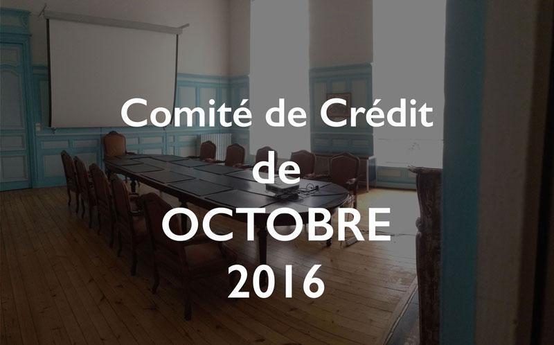 Illustration Comité de Crédit octobre 2016 de la CSDL