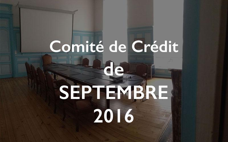 Illustration Comité de Crédit CSDL de septembre 2016