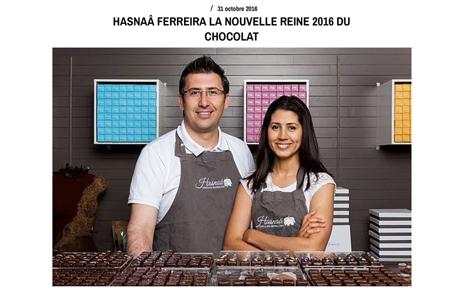 Illustration de l'article sur la nouvelle reine du chocolat