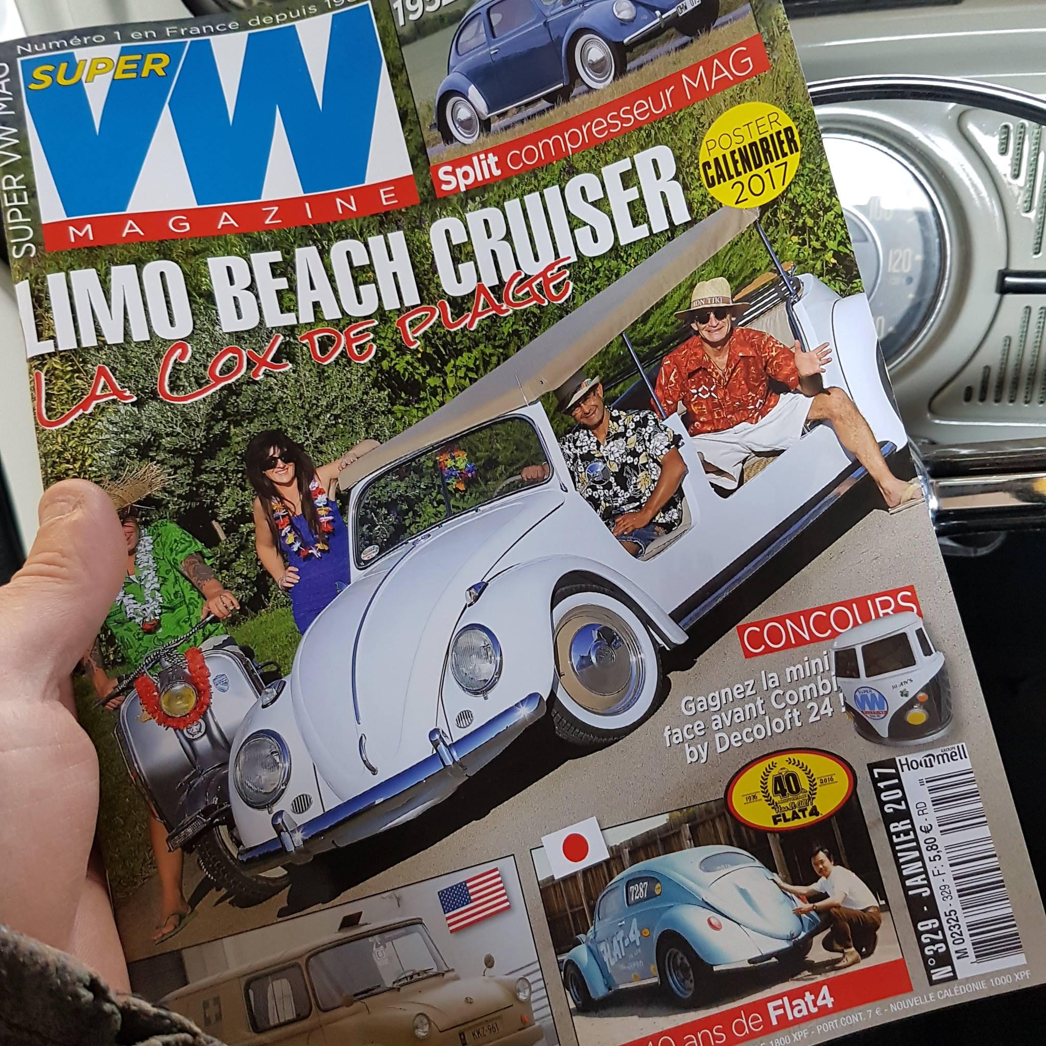 Decoloft 24 à la une du Super VW magazine