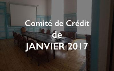 Illustration Comité de Crédit de Janvier 2017