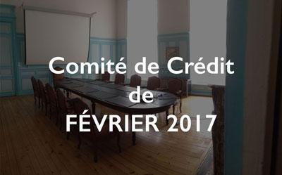 Illustration Comité de Crédit de février 2017